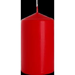 Świeca Walec Bispol Czerwona 1 sztuka 7x12 cm