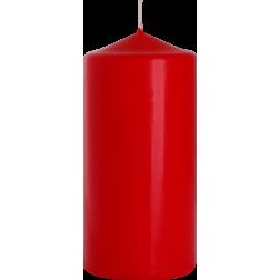 Świeca Walec Bispol Czerwona 1 sztuka 7x15 cm