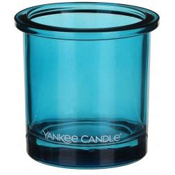 Ozdobny słoik osłonka świecznik Blue Yankee POP na votive lub tealight