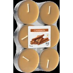 Podgrzewacze Zapachowe Tealight Maxi 6 sztuk Cinnamon | Cynamon