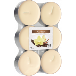 Podgrzewacze Zapachowe Tealight Maxi 6 sztuk Vanilla | Wanilia