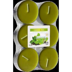Podgrzewacze Zapachowe Tealight Maxi 6 sztuk Green Tea | Zielona Herbata