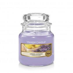 Yankee Candle Lemon Lavender Mała świeca zapachowa Cytrusowa Lawenda