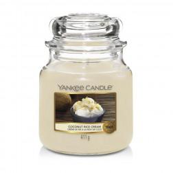 Yankee Candle Coconut Rice Cream Średnia Świeca Zapachowa