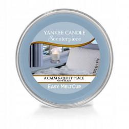 Wosk do kominków elektrycznych Yankee A Calm & Quiet Place Melt Cup Scenterpiece