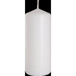 Świeca Walec Bispol Biała 1 sztuka 6x15 cm