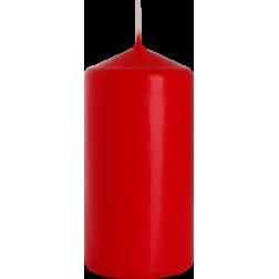 Świeca Walec Bispol Czerwona 1 sztuka 6x12 cm