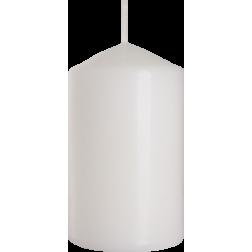 Świeca Walec Bispol Biała 1 sztuka 6x10 cm