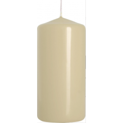 Świeca Walec Bispol Ecru 1 sztuka 6x10 cm
