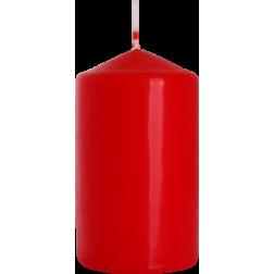 Świeca Walec Bispol Czerwona 1 sztuka 6x10 cm
