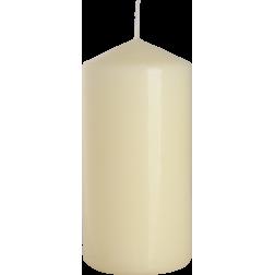 Świeca Walec Bispol Ecru 1 sztuka 6x12 cm