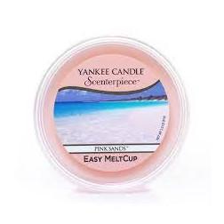 Wosk do kominków elektrycznych Yankee Pink Sands Melt Cup Scenterpiece