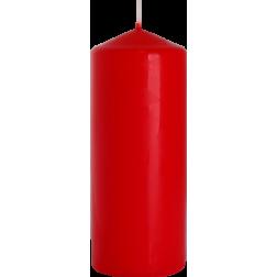 Świeca Walec Bispol Czerwona 1 sztuka 6x15 cm