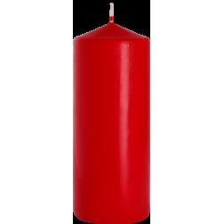 Świeca Walec Bispol Czerwona 1 sztuka 8x20 cm