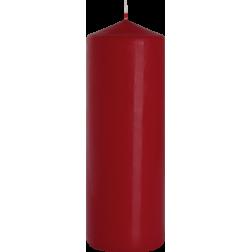 Świeca Walec Bispol Burgundowa 1 sztuka 8x25 cm