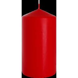 Świeca Walec Bispol Czerwona 1 sztuka 8x15 cm