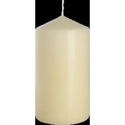 Świeca Walec Bispol Ecru 1 sztuka 8x15 cm