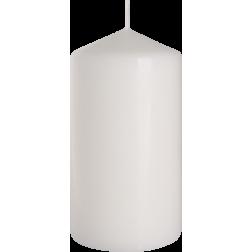 Świeca Walec Bispol Biała 1 sztuka 8x15 cm
