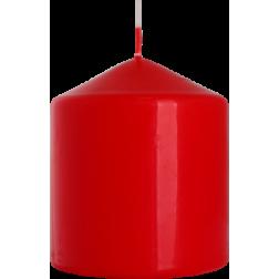 Świeca Walec Bispol Czerwony 1 sztuka 8x9 cm