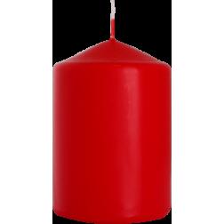 Świeca Walec Bispol Czerwona 1 sztuka 7x10 cm