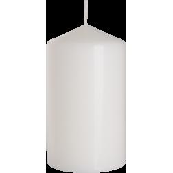 Świeca Walec Bispol Biała 1 sztuka 7x12 cm
