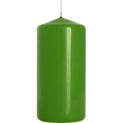 Świeca Walec Bispol Zielona 1 sztuka 5x10 cm