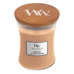 Świeca zapachowa WoodWick Golden Milk Średnia