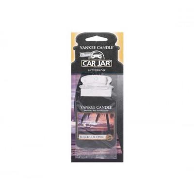 Yankee Candle Black Coconut Car Jar Zapach Samochodowy Czarny Kokos