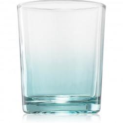 Osłonka świecznik Yankee Candle Savoy Ombree Glass Blue na świece typu votive