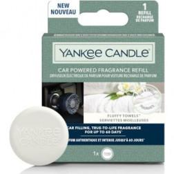 Elektryczny Odświeżacz do Samochodu Yankee Candle Fluffy Towels Uzupełniacz