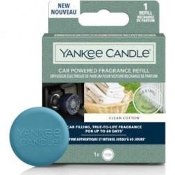 Elektryczny Odświeżacz do Samochodu Yankee Candle Clean Cotton Uzupełniacz