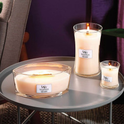 seria świec zapachowych white honey woodwick core