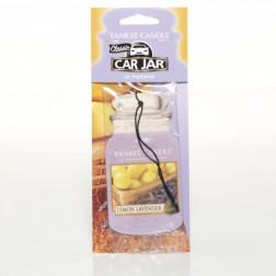 Yankee Candle Lemon Lavender Car Jar Zapach Samochodowy