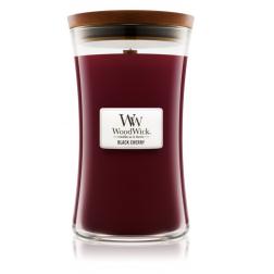 Duża świeca zapachowa Black Cherry marki Woodwick
