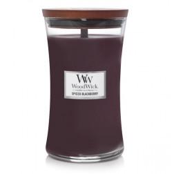 Świeca WoodWick Spiced Blackberry Duża Jeżyna
