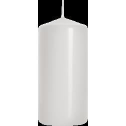 Świeca Walec Bispol Biała 1 sztuka 5x10 cm