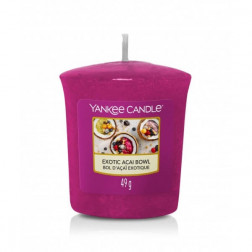 Yankee Candle Sampler Exotic Acai Bowl Votive Świeca Zapachowa Sampler 49g