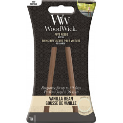 WoodWick Vanilla Bean Zapach do Auta Pałeczki- uzupełniacz