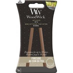 WoodWick Fireside Zapach do Auta Pałeczki- uzupełniacz