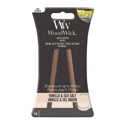 WoodWick Vanilla & Sea Salt Zapach do Auta Pałeczki- uzupełniacz