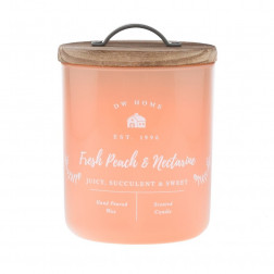 DW Home Farmhouse Fresh Peach & Nectarine Świeca Zapachowa Średnia 241g