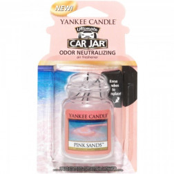 Yankee Ultimate Pink Sands  Car Jar Zapach Samochodowy