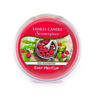 Wosk do kominków elektrycznych Yankee Red Raspberry Melt Cup Scenterpiece