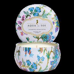 Świeca sojowa Aqua de Soi Jasmin Hyacinth Jaśmin Hiacynt średnia