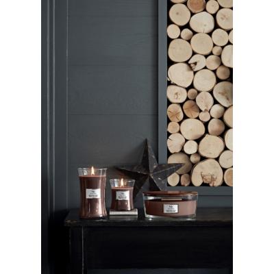 seria świec zapachowych Woodwick Core Smoked Walnut & Maple