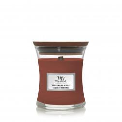 Woodwick Core Mała świeca zapachowa Smoked Walnut & Maple