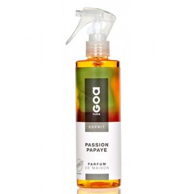 spray do pomieszczeń marki Clem Goa o zapachu Passion Papaye Papaja i Marakuja o pojemności 250 ml