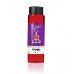 olejek zapachowy do dyfuzora Palisander i Mahoń francuskiej marki Goa o pojemności 250ml