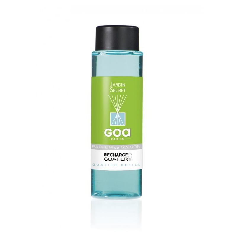 Olejek zapachowy do dyfuzora Goa Jardin Secret Zaczarowany Ogród o pojemności 250 ml