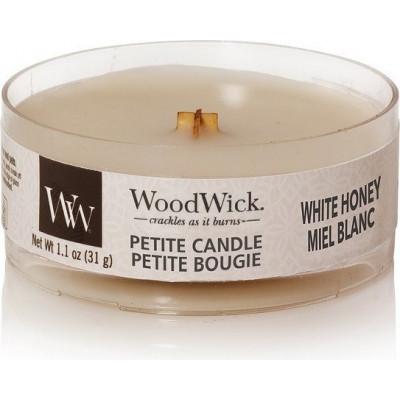 Świeca zapachowa Core White Honey WoodWick Petite